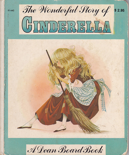 Janet Anne Grahame Johnstone Wonderful Story of Cinderella blue cover