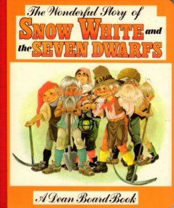 Janet Anne Grahame Johnstone Wonderful Story of Snow White orange cover