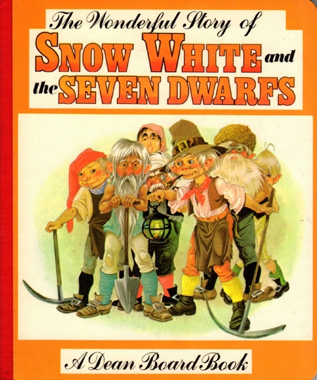 Janet Anne Grahame Johnstone Wonderful Story of Snow White orange cover