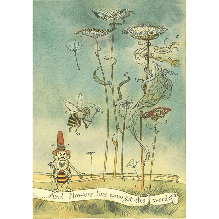 CVS How to See Fairies FS illus weeds
