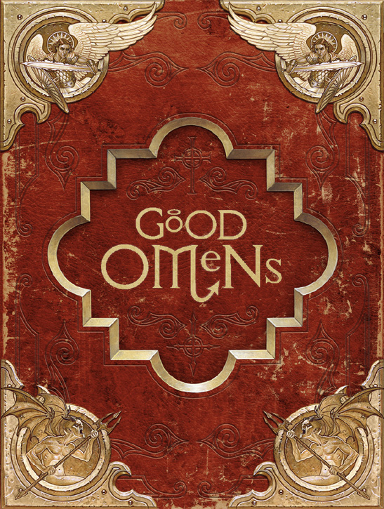 Ineffable Edition Good Omens cover