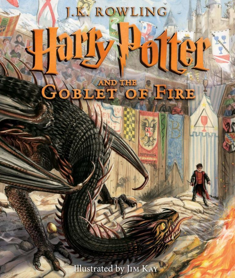 JK Rowling Jim Kay Illustrated Goblet of Fire cover