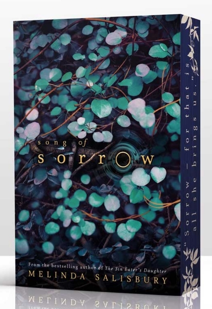 Melinda Salisbury Song of Sorrow sprayed page edges