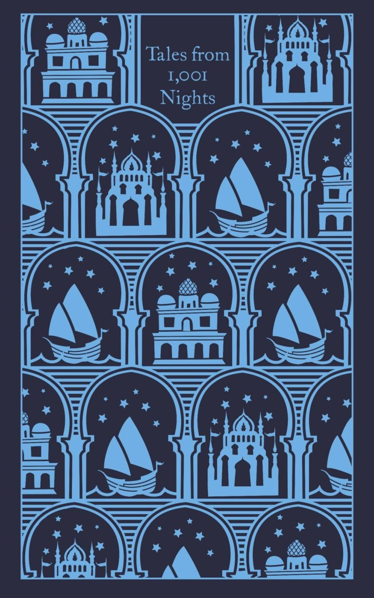 Penguin Clothbound 1001 Nights Aladdin Cover