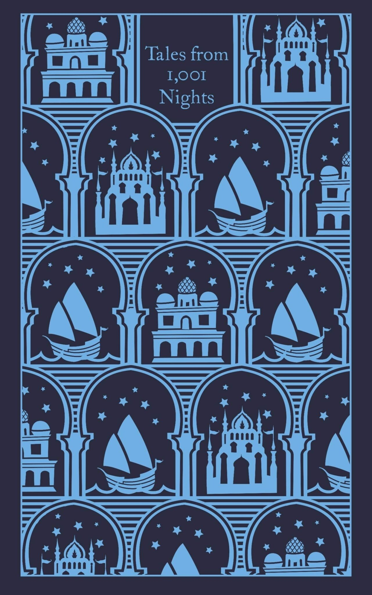 Penguin Clothbound 1001 Nights Aladdin Cover
