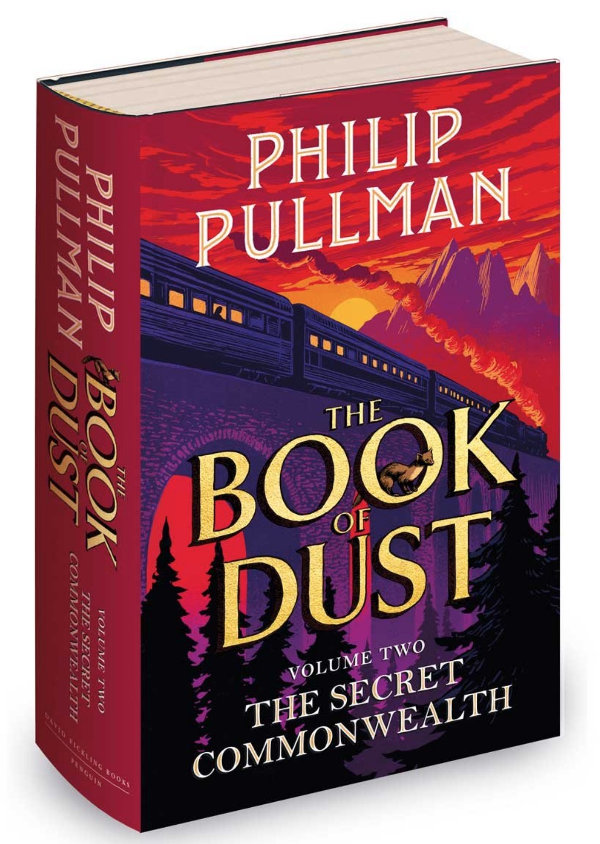 Philip Pullman Secret Commonwealth Book of Dust 2 UK cover