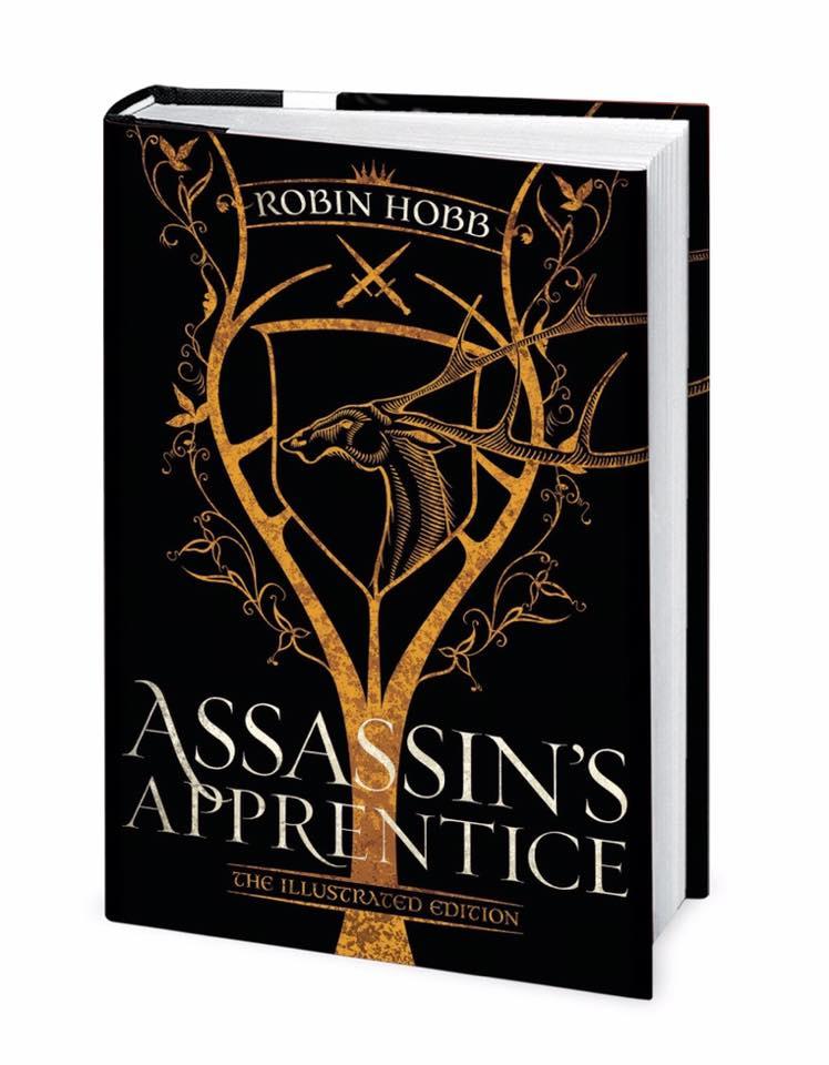 Robin Hobb Assassins Apprentice Illustrated cover