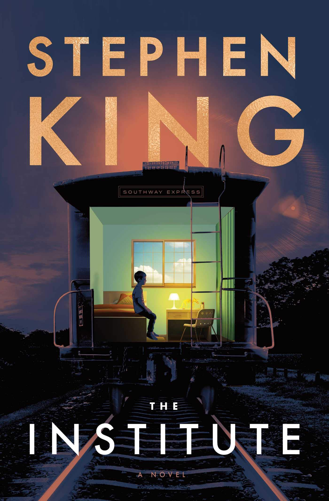 Stephen King The Institute US cover