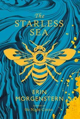erin morgenstern starless sea waterstones dust jacket
