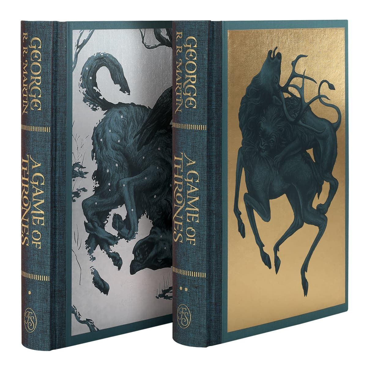george martin game of thrones FS covers