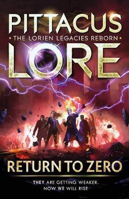 pittacus lore return to zero cover
