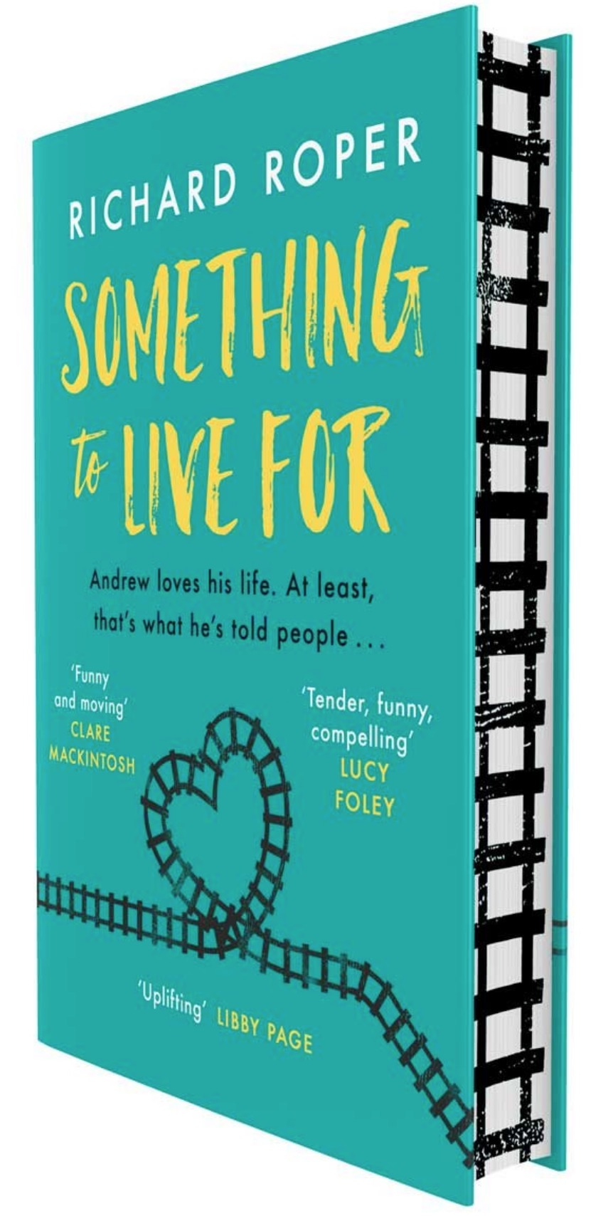 richard roper something to live for waterstones cover
