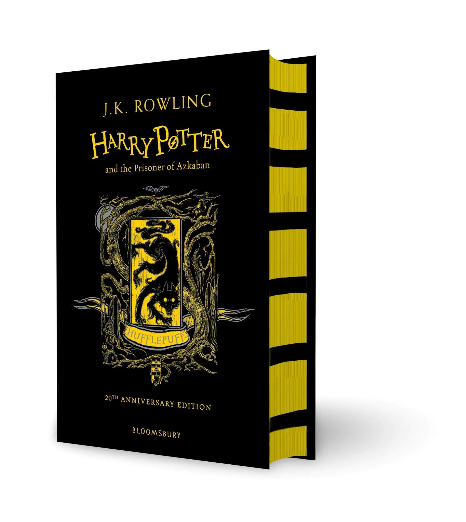 rowling harry potter azkaban hufflepuff