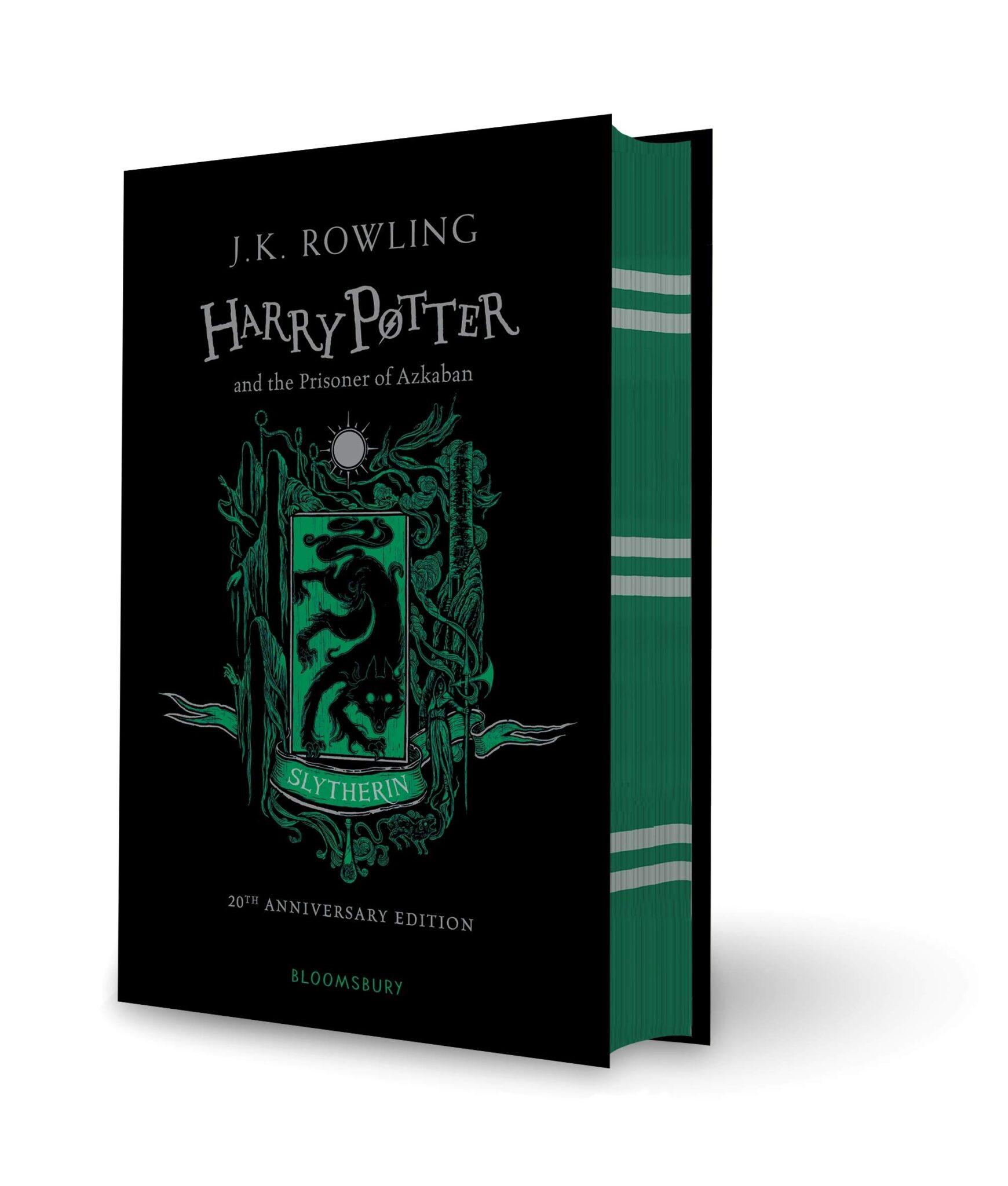 rowling harry potter azkaban slytherin