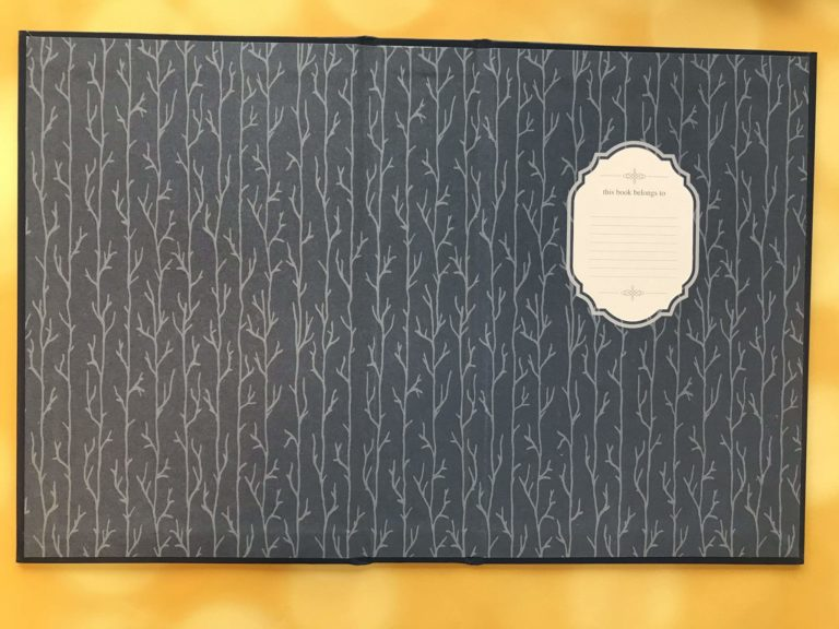 seasons edition emily bronte wuthering heights endpapers