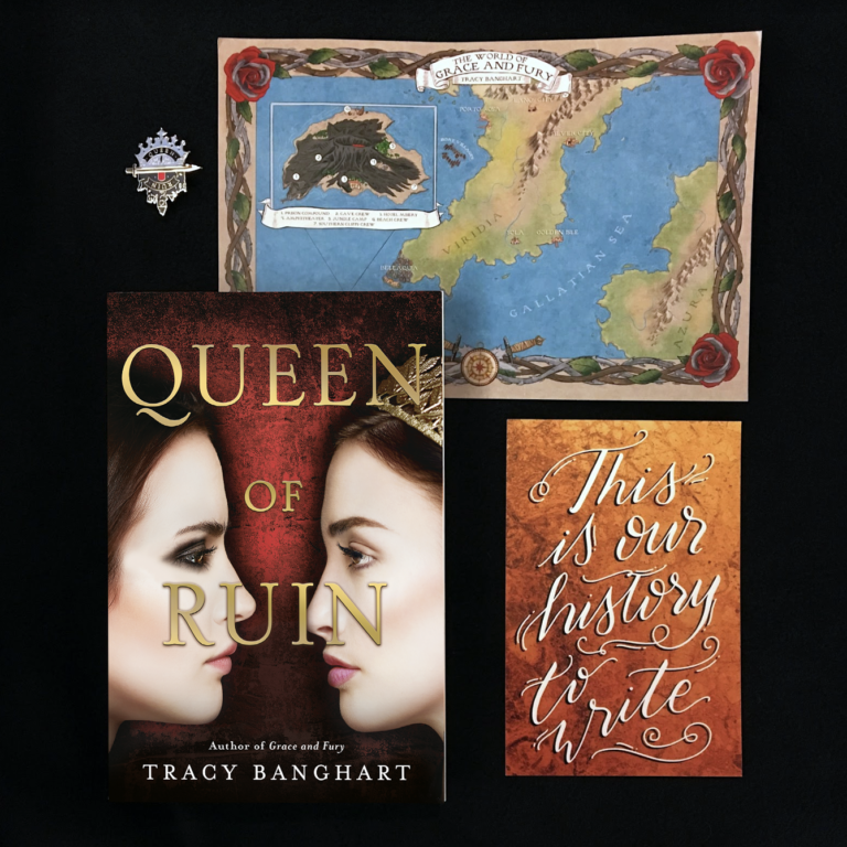 tracy banghart queen of ruin preorder swag