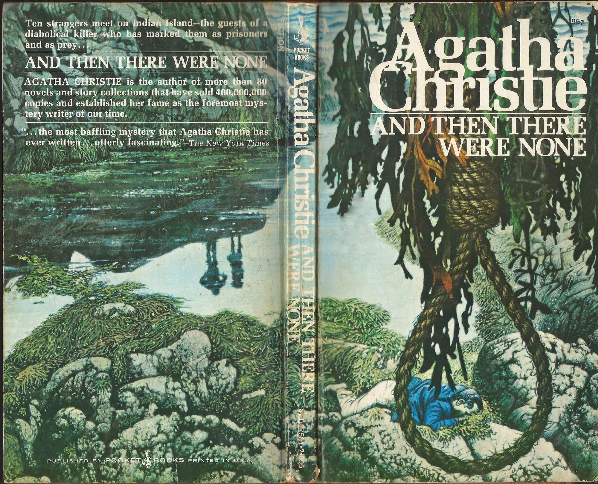 Agatha Christie Tom Adams And then there were none Pocket Books sm