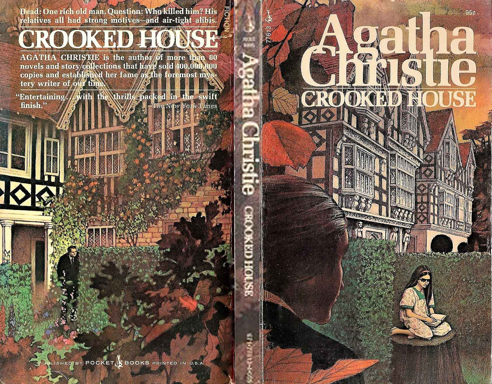Agatha Christie Tom Adams Crooked House Pocket Books sm