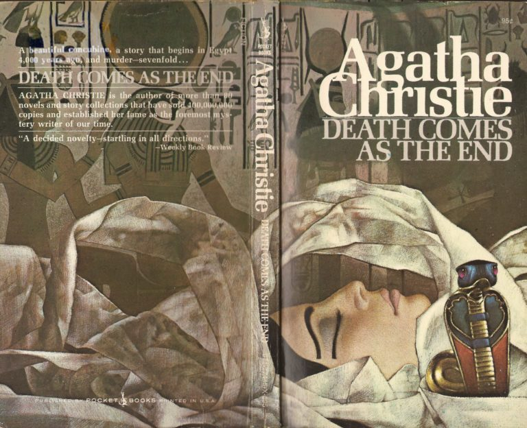 Agatha Christie Tom Adams Death Comes as the End Pocket Books 3