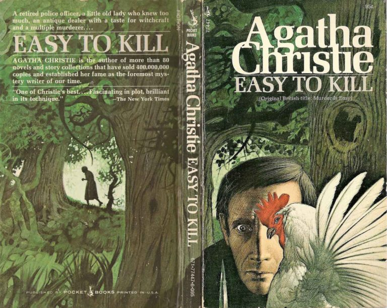 Agatha Christie Tom Adams Easy to Kill Pocket fixed sm