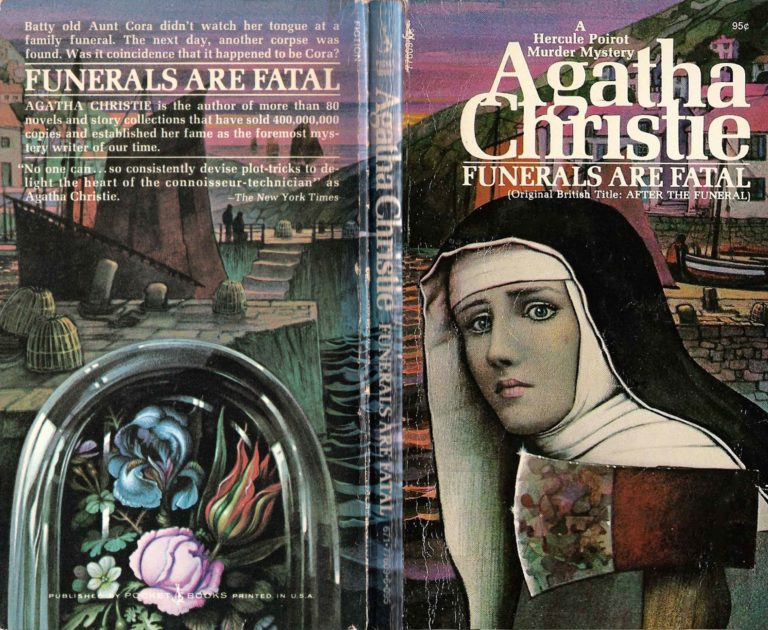 Agatha Christie Tom Adams Funerals Are Fatal Pocket Books sm