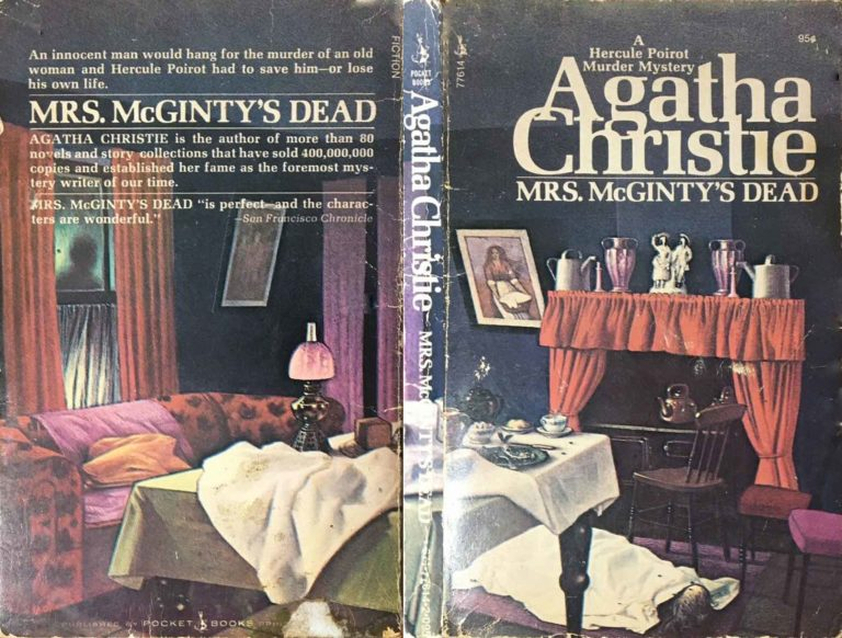 Agatha Christie Tom Adams Mrs McGIntys Dead Pocket sm