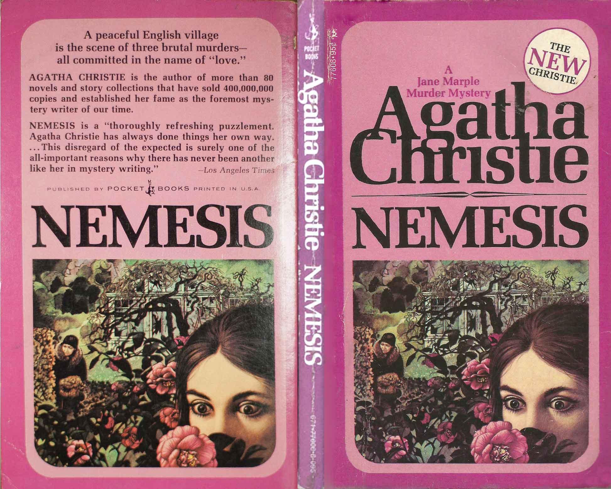 Agatha Christie Tom Adams Nemesis Pocket Books sm