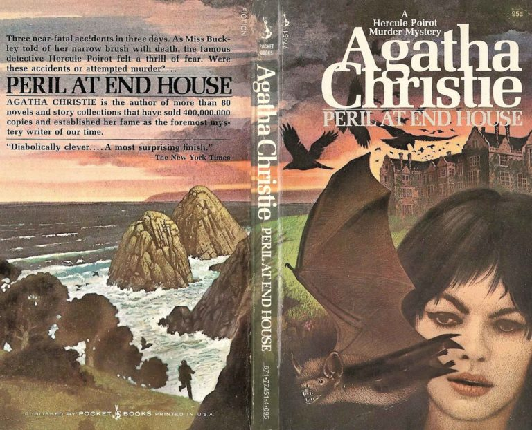 Agatha Christie Tom Adams Peril at End House Pocket Books fixed sm