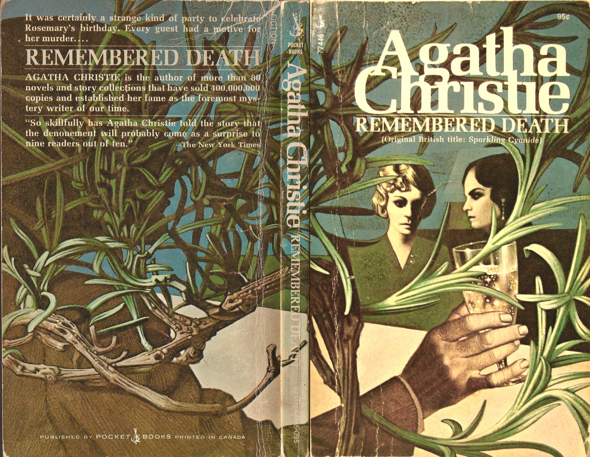 Agatha Christie Tom Adams Remembered Death Pocket sm