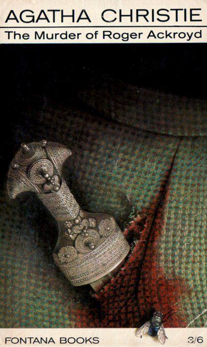 Agatha Christie Tom Adams The Murder of Roger Ackroyd 2 Fontana 1969