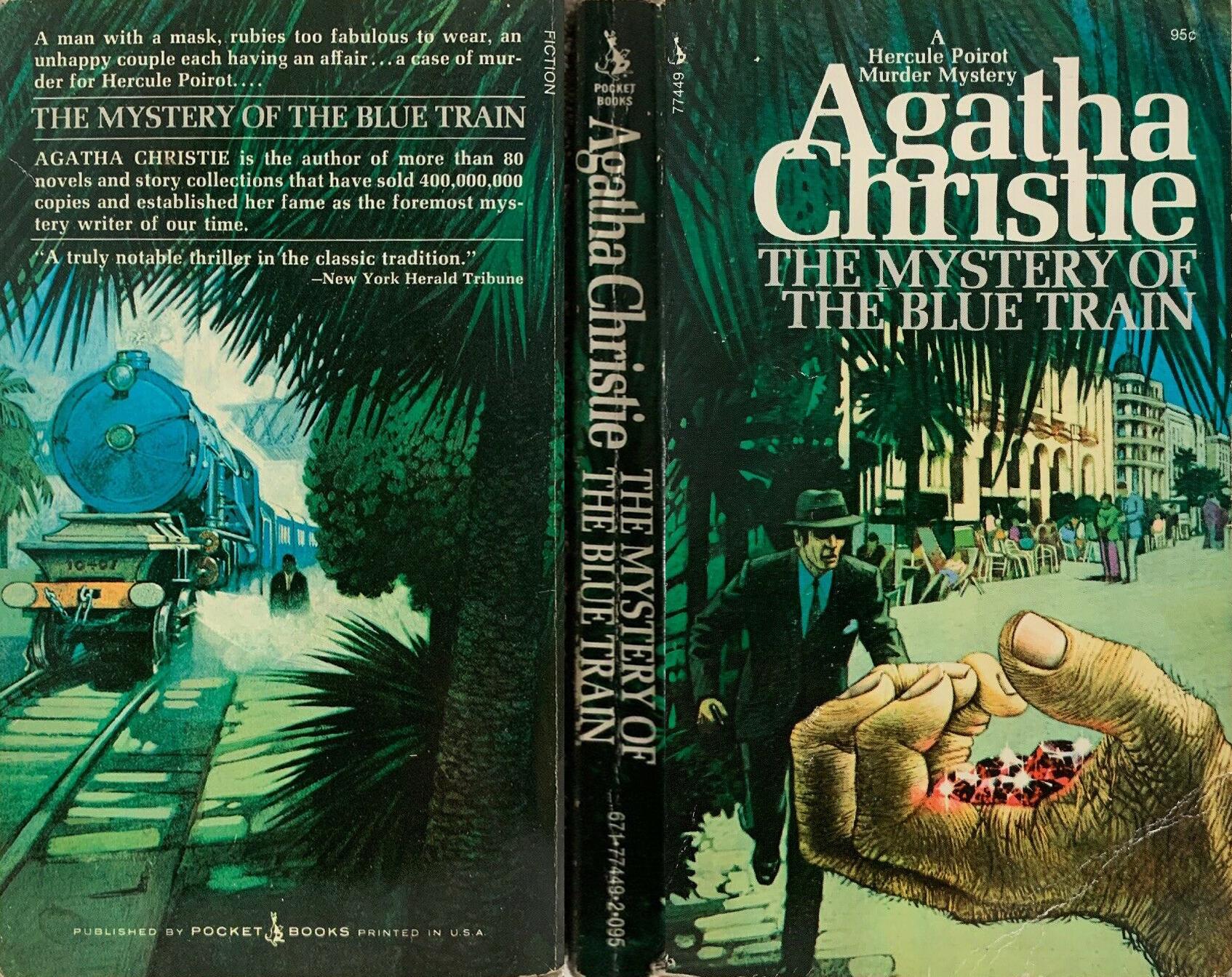 Agatha Christie Tom Adams The Mystery of the Blue Train Pocket
