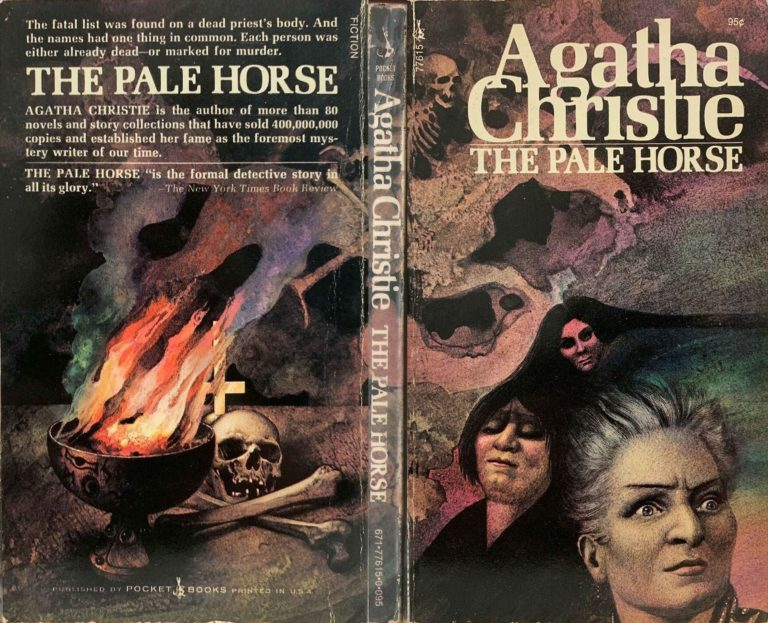 Agatha Christie Tom Adams The Pale Horse Pocket Books sm