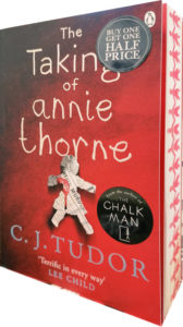 CJ Tudor The Taking of Annie Thorne sprayed edges