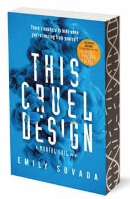 Emily Suvada This Cruel Design Sprayed Page Edges