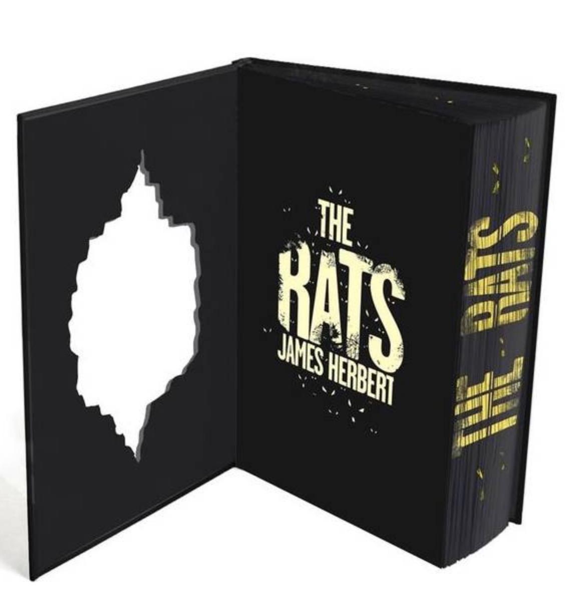 James Herbert The Rats sprayed edges