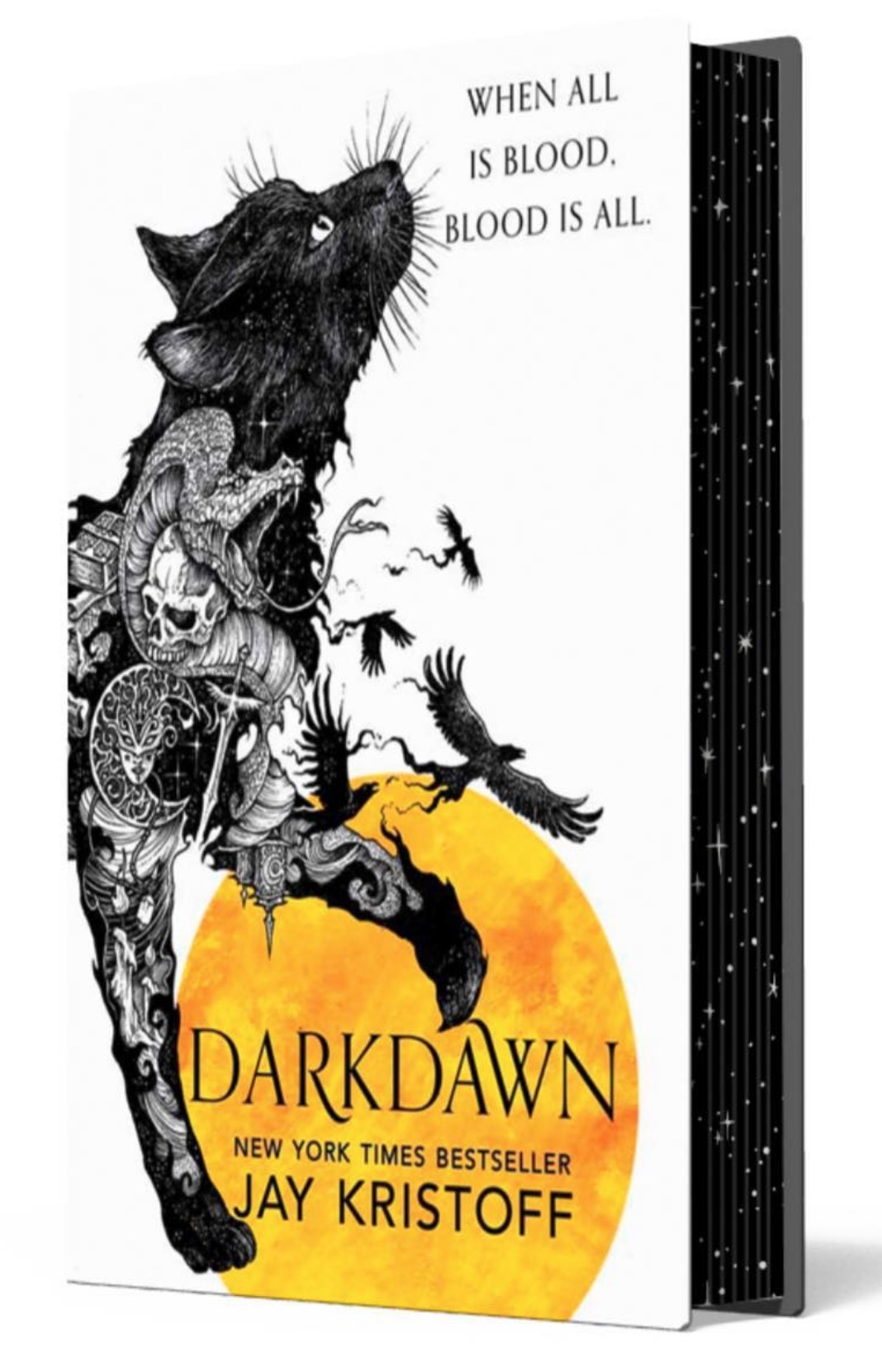 Jay Kristoff Darkdawn sprayed edges