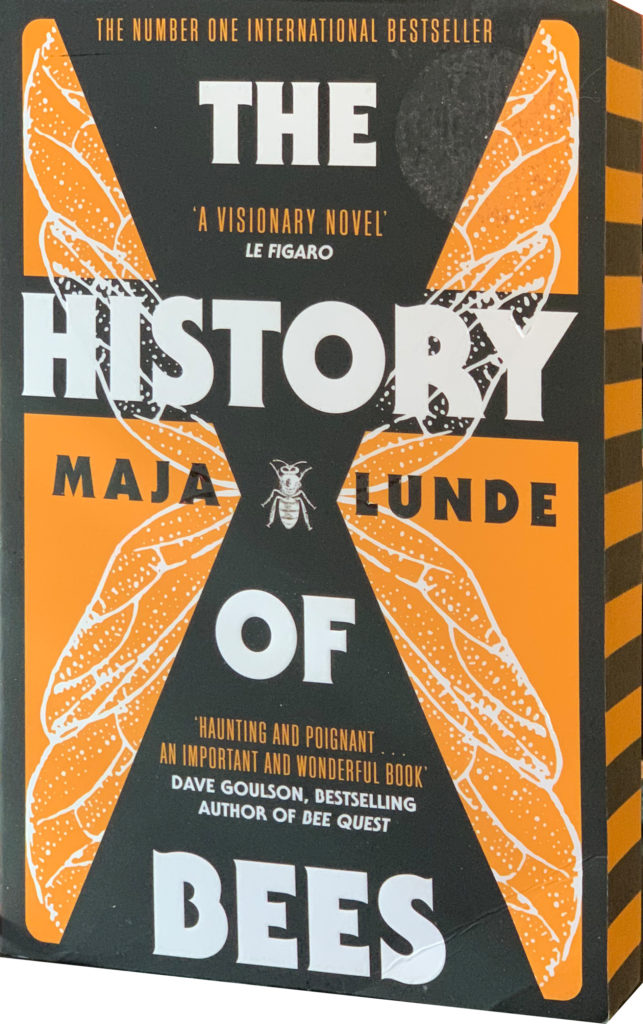 Maja Lunde The History of Bees sprayed edges