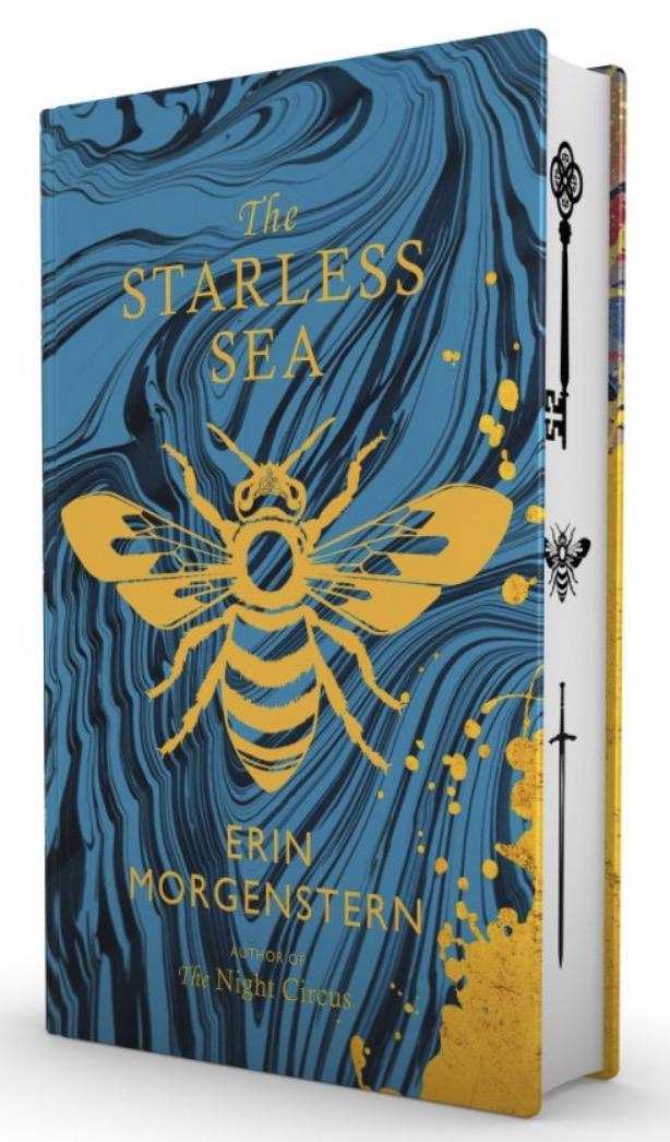 erin morgenstern starless sea sprayed edges 2019