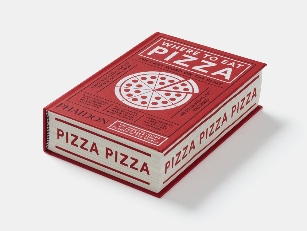 phaidon where to eat pizza sprayed edges