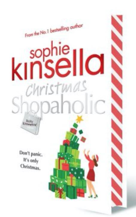 sophie kinsella christmas shopaholic speayed edges