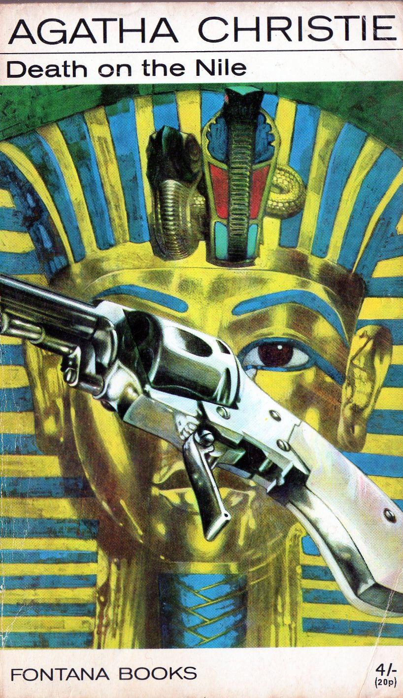 Agatha Christie Tom Adams Death on the Nile Fontana 1969