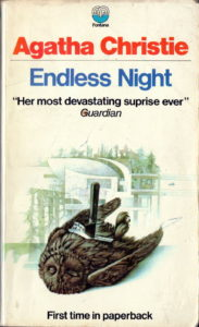 Agatha Christie Tom Adams Endless Night Fontana 1970