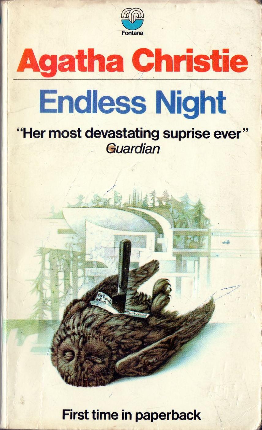 Agatha Christie Tom Adams Endless Night Fontana 1970