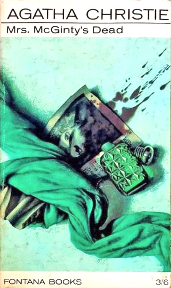 Agatha Christie Tom Adams Mrs McGintys Dead 1964 v2