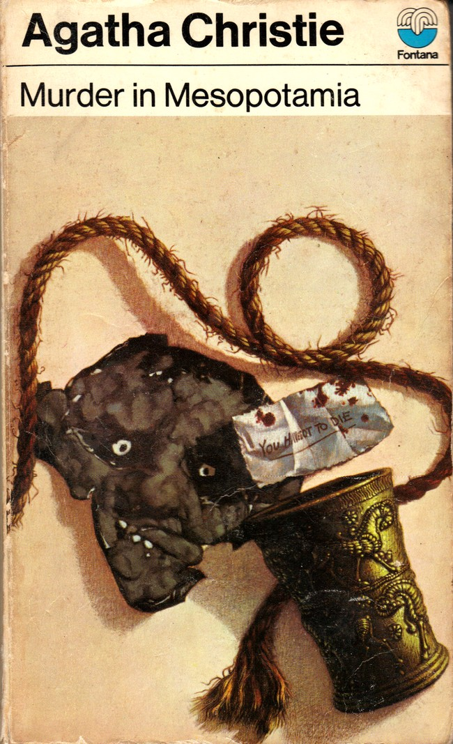 Agatha Christie Tom Adams Murder in Mesopotamia Fontana