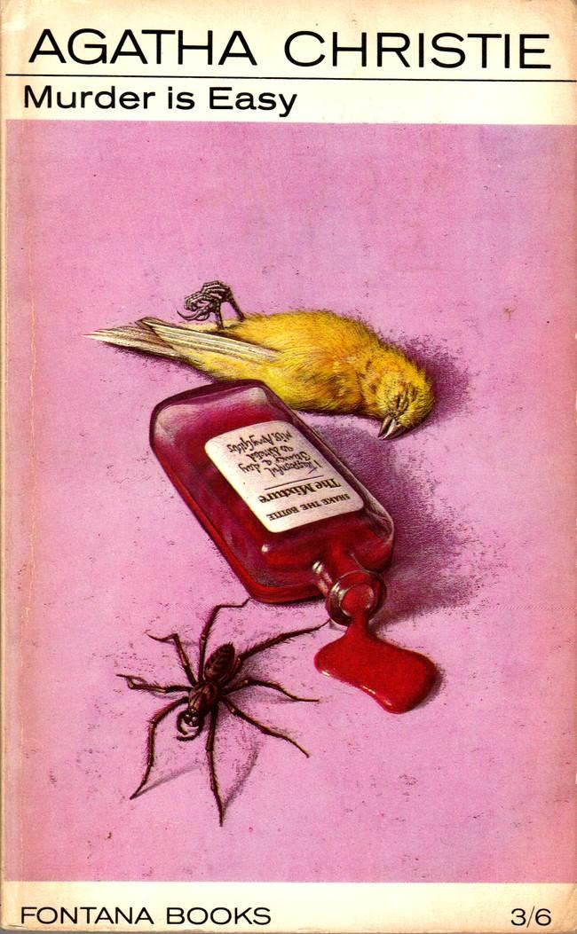 Agatha Christie Tom Adams Murder is Easy 2 Fontana