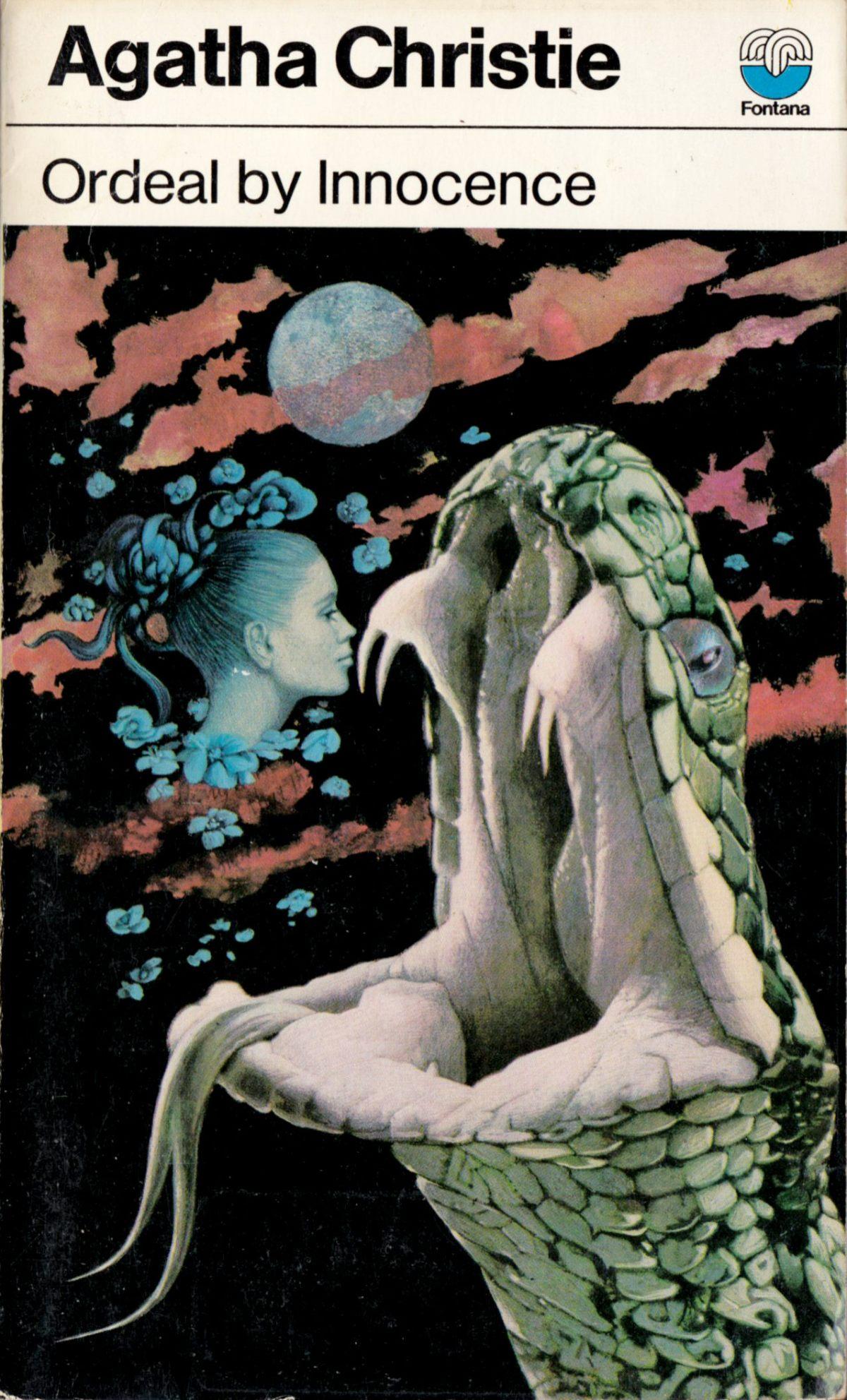 Agatha Christie Tom Adams Ordeal By Innocence Fontana 1975