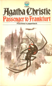Agatha Christie Tom Adams Passenger to Frankfurt Fontana