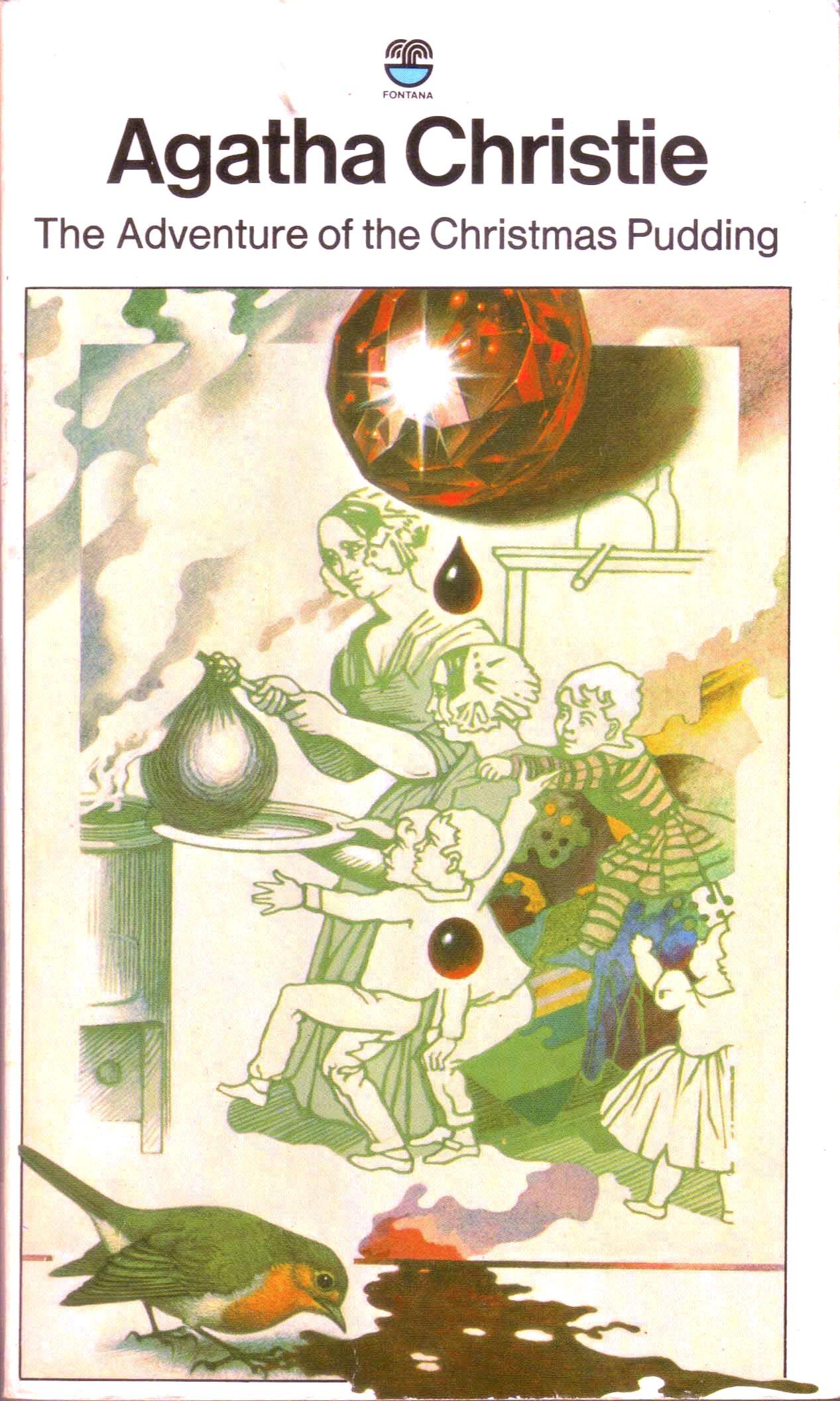 Agatha Christie Tom Adams The Adventure of the Christmas Pudding 2