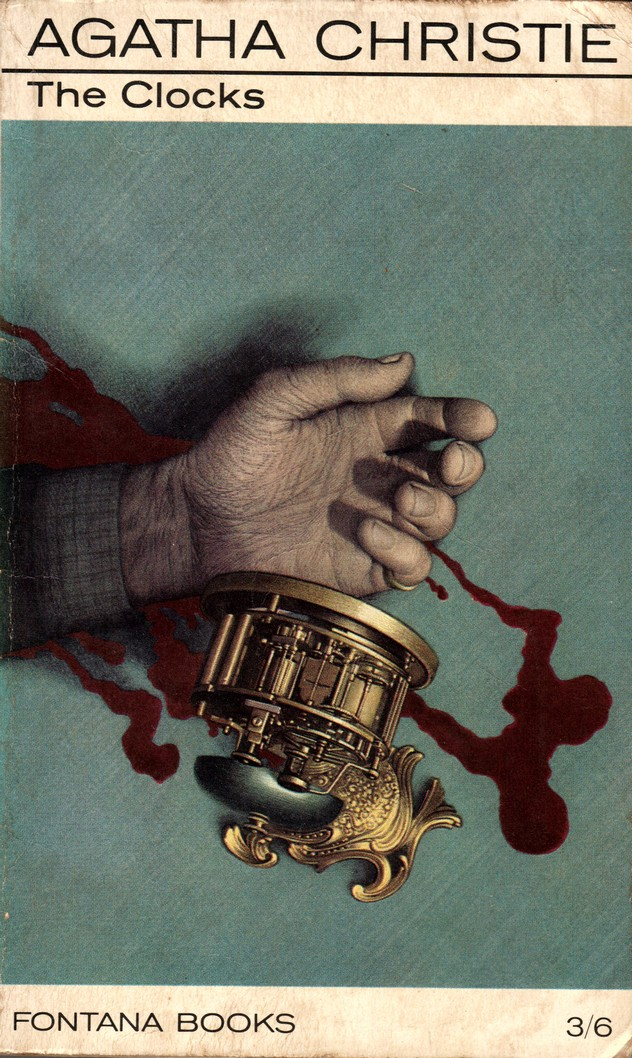 Agatha Christie Tom Adams The Clocks alt Fontana